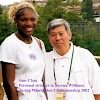 Sam Chan - Personal Stringer to Serena Williams during Wimbledon 2002