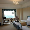 Our hotel room - AIG Japan Open