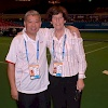 Corrie & Sam at Toray Pan Pacific Open 2007